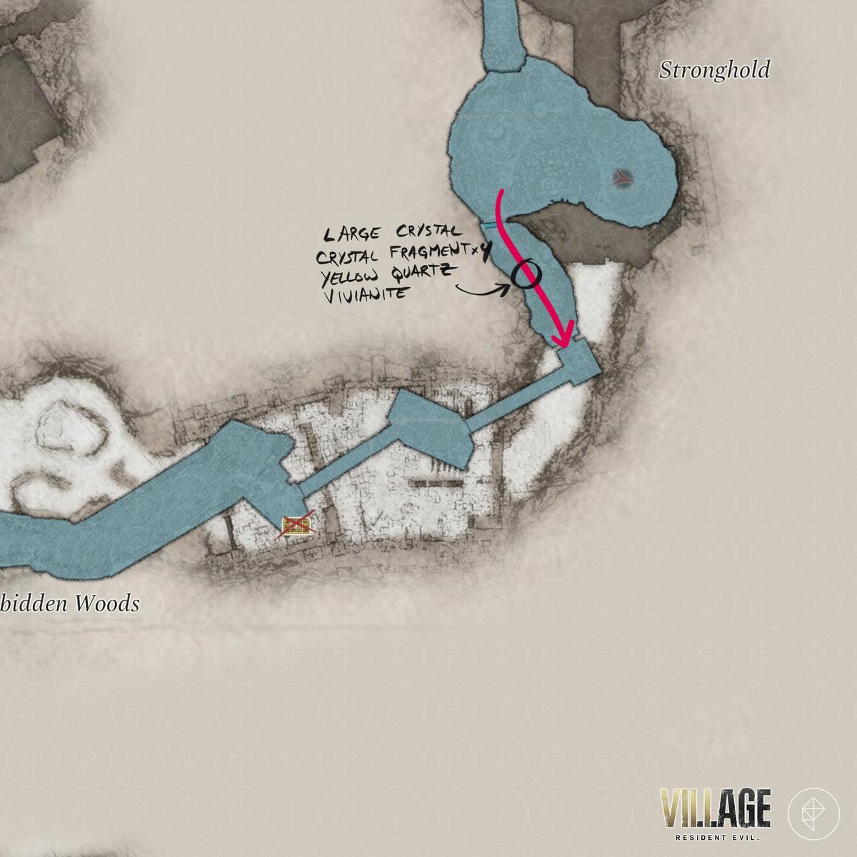 Resident Evil Village walkthrough part 13: Find the stronghold