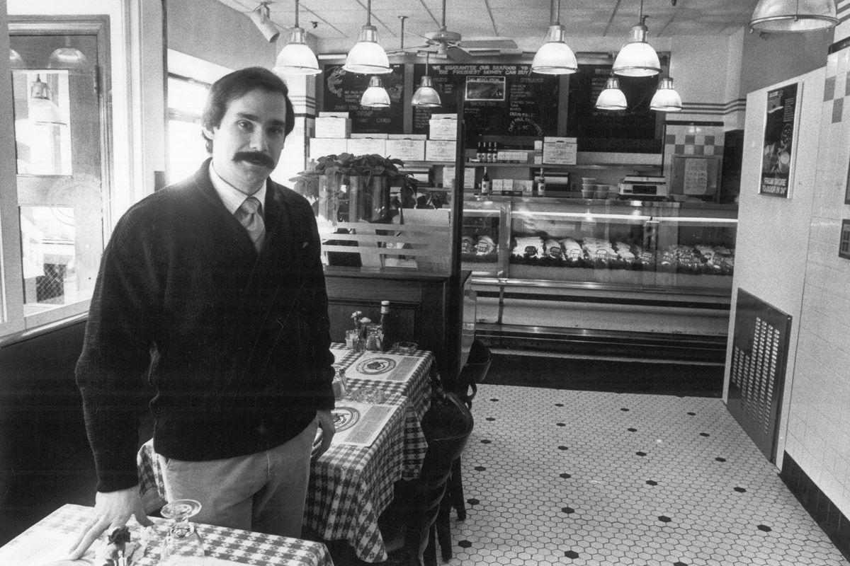 Roger Berkowitz in the Restaurant-Market