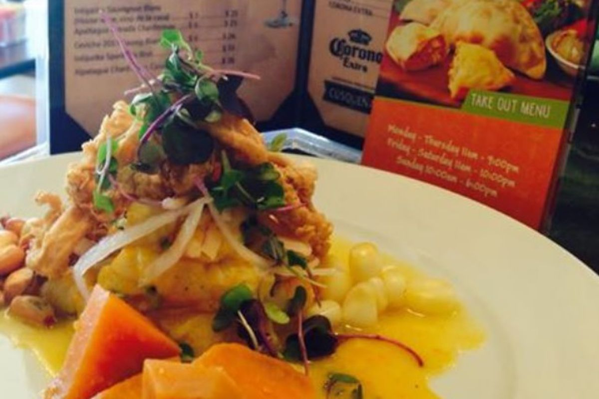 This is one of several dishes Latin Bites is accusing Aji Peruvian Cafe of stealing.