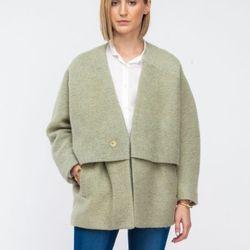 "<a href=""http://needsupply.com/womens/sale/ran-jacket-in-light-green.html"">Reality Studio ran jacket</a>, $302.39 (was $540)"