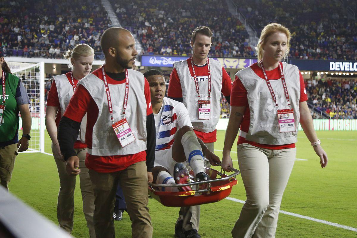 091df6685d1 McKennie suffers ruptured ankle ligament - Stars and Stripes FC