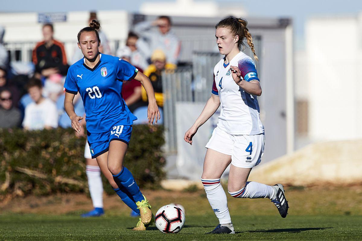 Italy v Iceland - Women U19's International Friendly