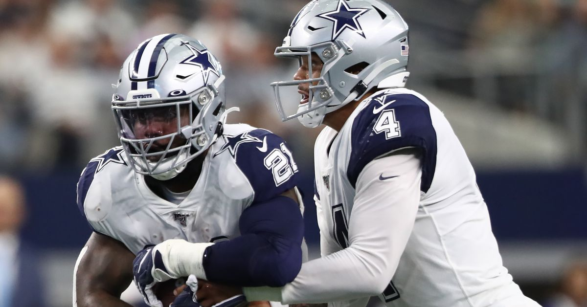 Opening odds to win NFL MVP in 2020 have Dak Prescott and Ezekiel Elliott near the top