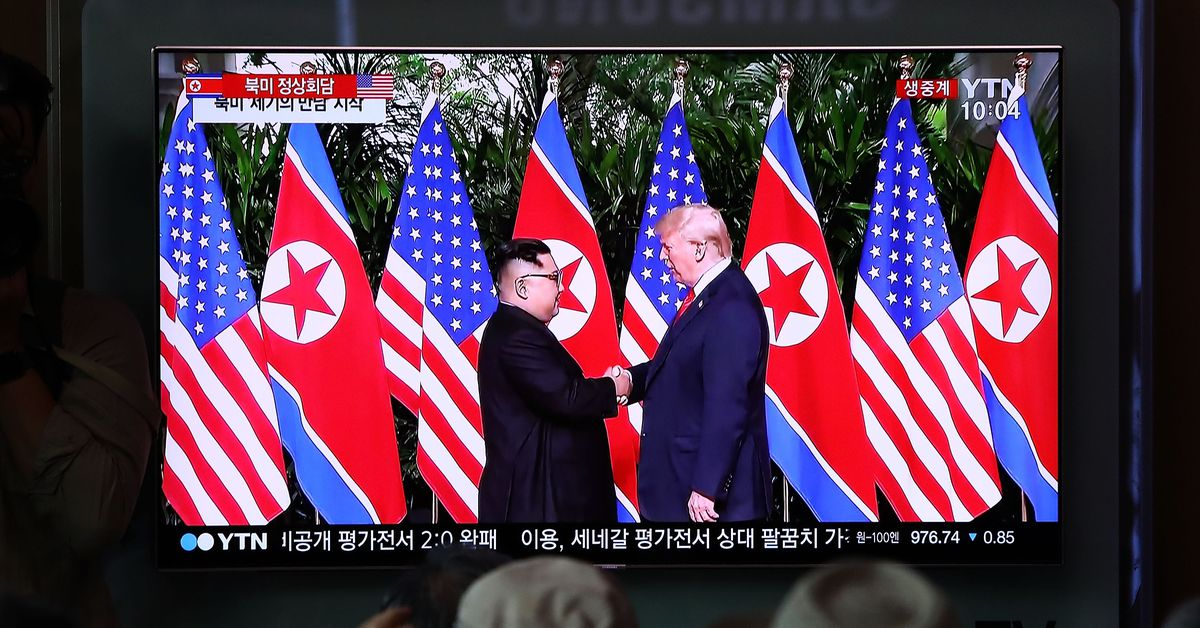 Exclusive Trump Told Kim Jong Un In Singapore Hed Declare End To