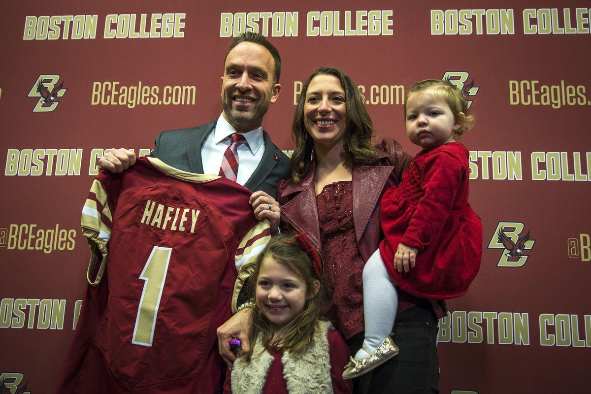 New Boston College Football Head Coach Jeff Hafley