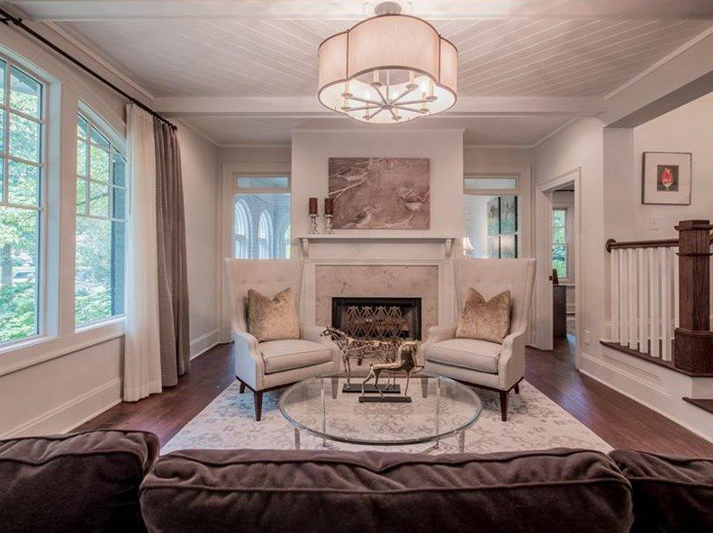 Where Buckhead Meets Midtown Refreshed 1920s Bungalow