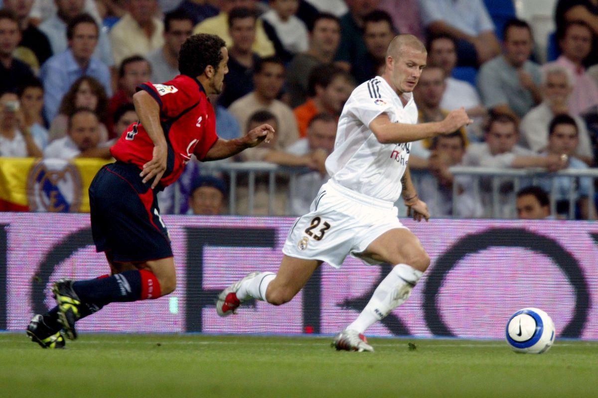 Soccer - Spanish Primera League - Real Madrid v Osasuna