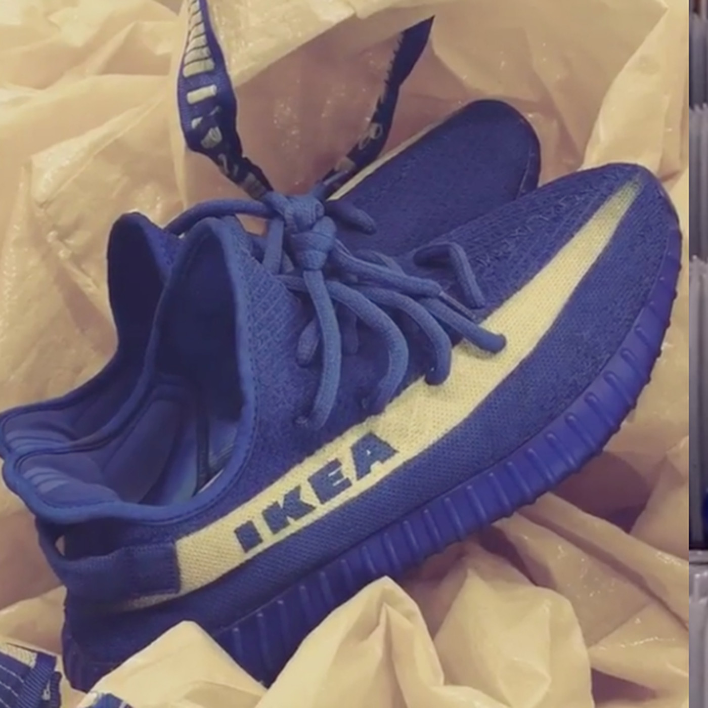 a1321386d IKEA-inspired Yeezys are a real thing and I want a pair - SBNation.com