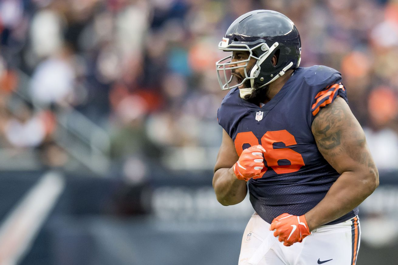 Bears DE Akiem Hicks ranked No. 39 on NFL Top 100 list