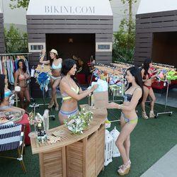 "The new Bikini.com pop-up store at the Palms. <span class=""credit""><em>[Photos: Denise Truscello]</em></span>"