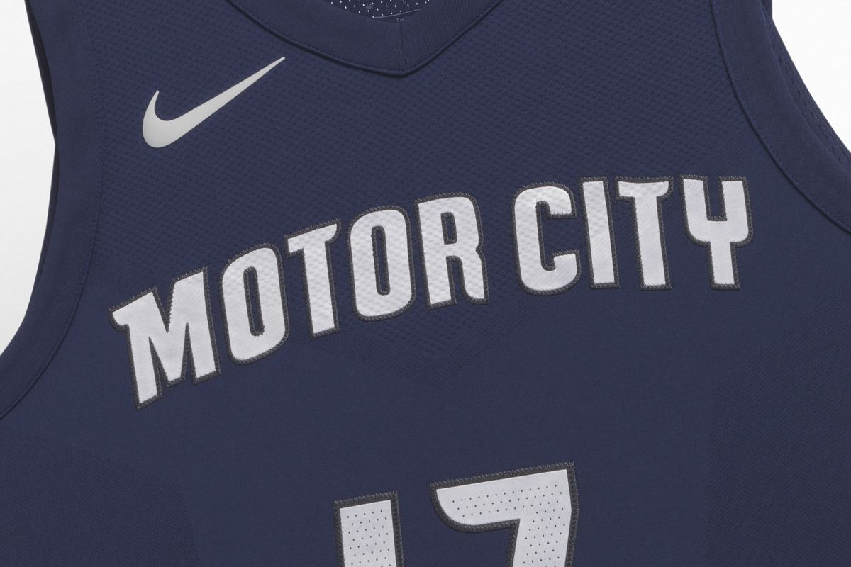 ed70cad40af Detroit Pistons unveil new Motor City jerseys as part of Nike City Edition
