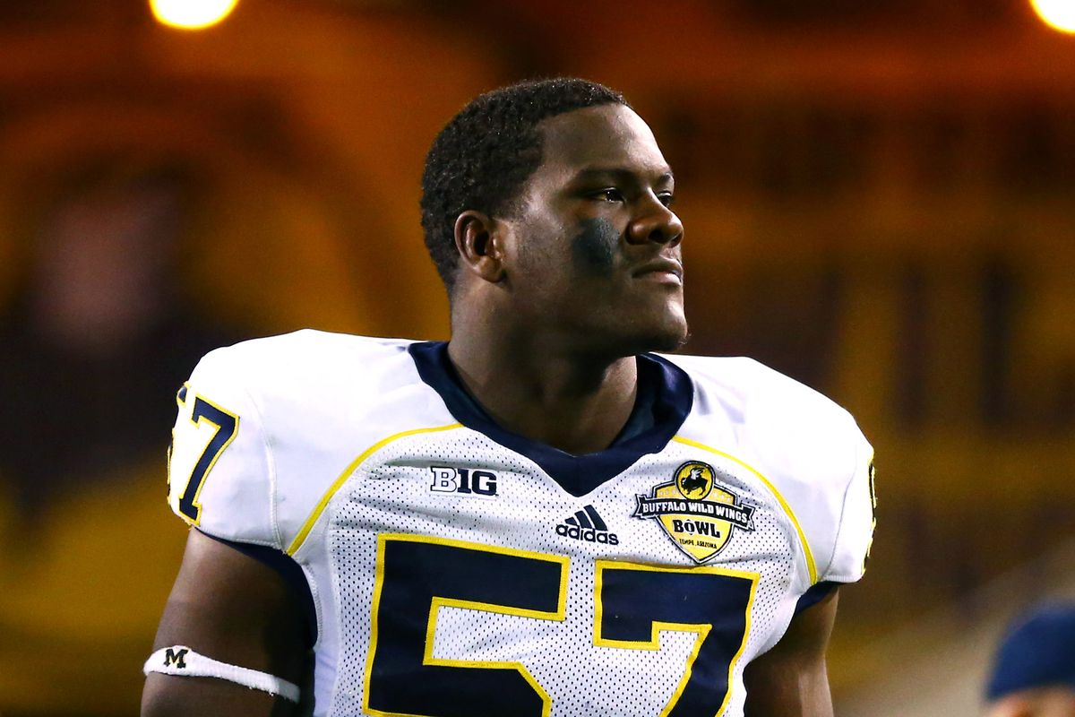 Cowboys 2015 Draft Tar s Michigan DE Frank Clark Blogging The