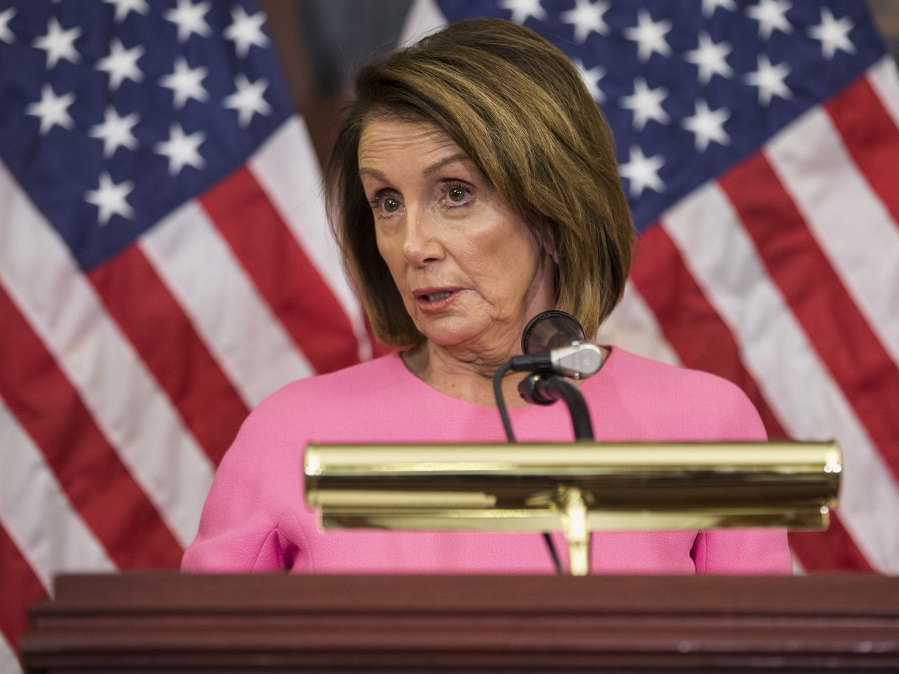 Nancy Pelosi, the likely next Speaker of the House, finds this argument confusing.