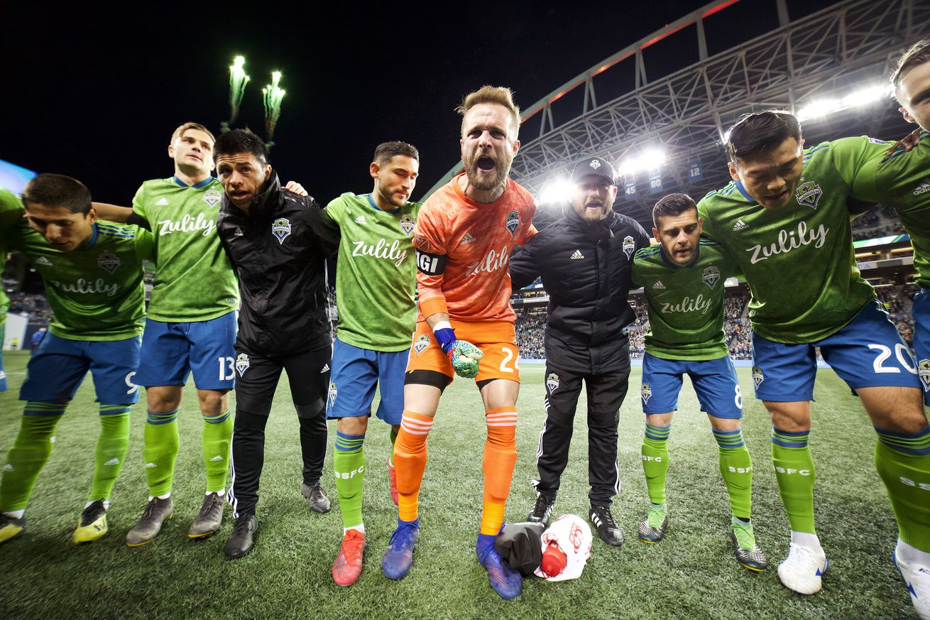 Ambitious Sounders ready to write new narratives