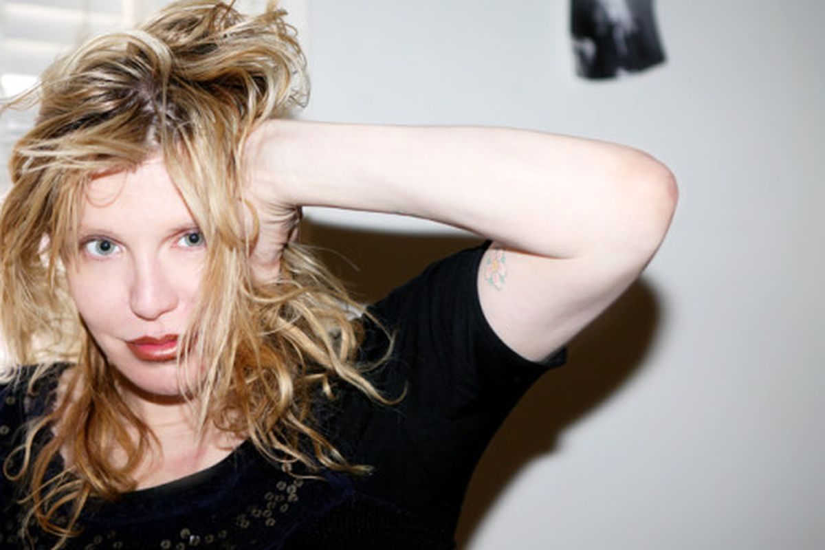 """Image by Emily Weiss via <a href=""""http://intothegloss.com/2013/04/courtney-love/"""">Into the Gloss</a>"""