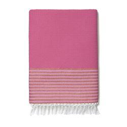 Pink outdoor blanket, $30