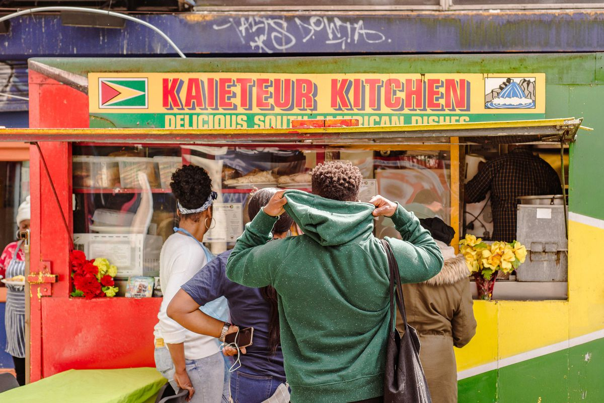 Kaieteur Kitchen —a Guyanese food stall in Elephant and Castle, run by Faye Gomes —is one of the best-value places to eat in London