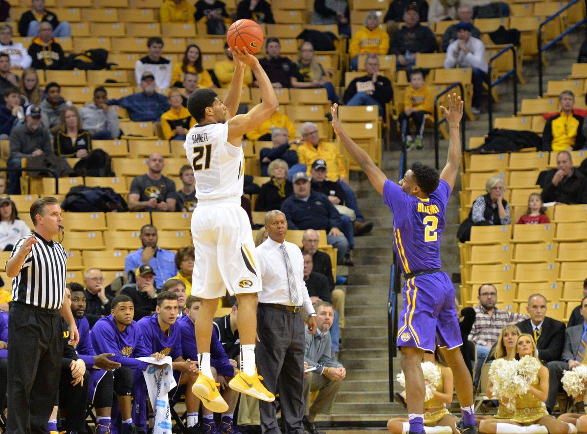 NCAA Basketball: Louisiana State at Missouri