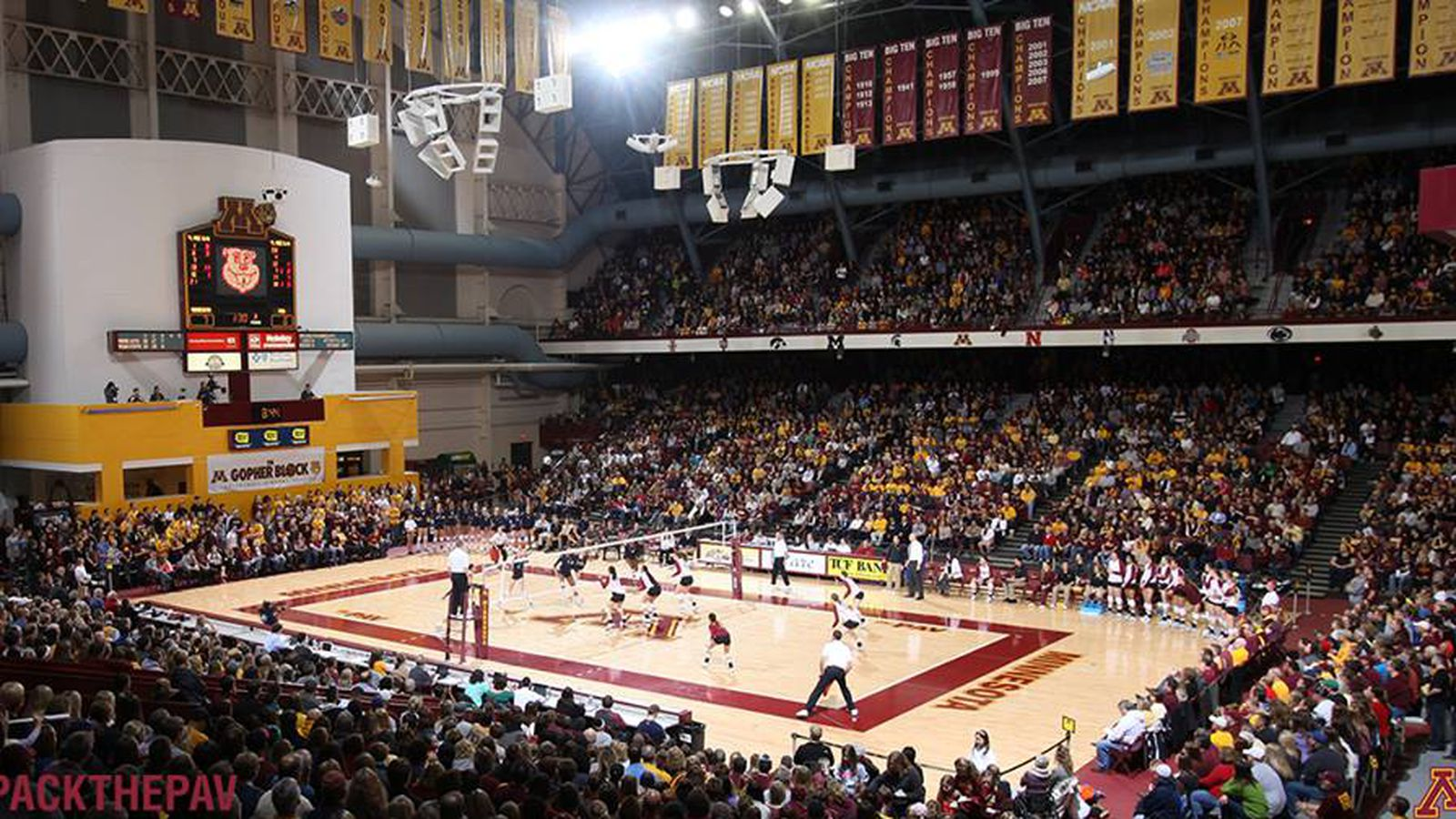 Minnesota Volleyball: Here's Your Change To See Gopher VB ...