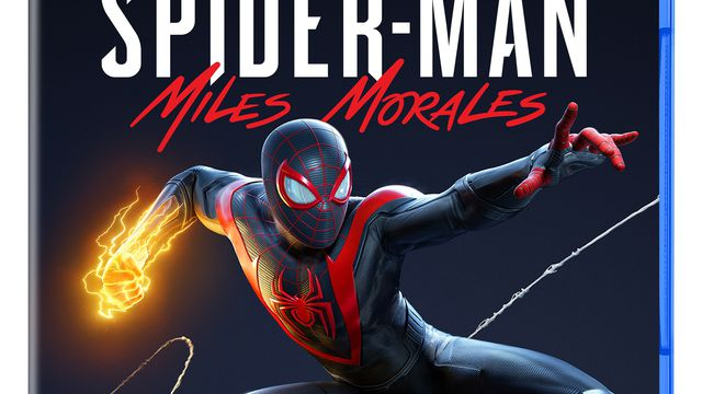 Box art for Spider-Man Miles Morales on PS5