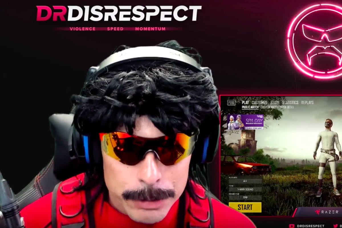 Twitch streamer Dr  Disrespect says someone shot at his