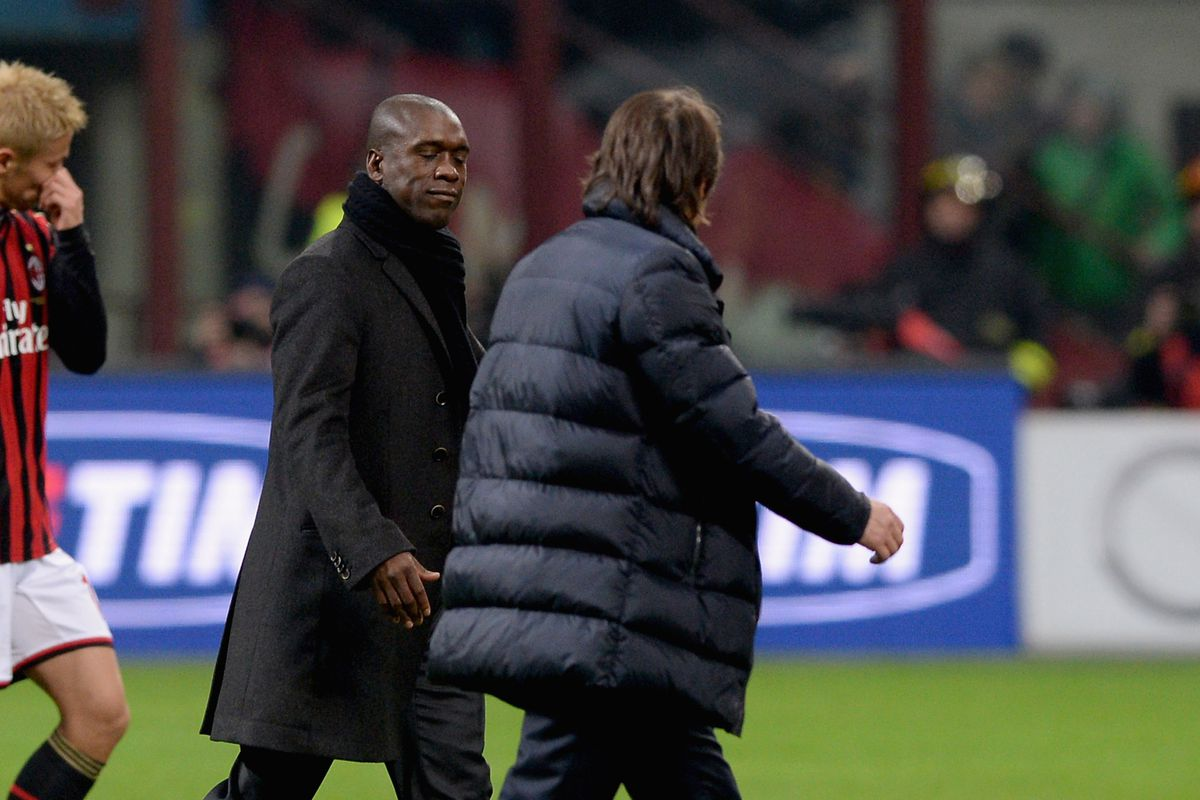 """""""Can i borrow your wig in the winter?"""" Seedorf preps for a polar vortex"""