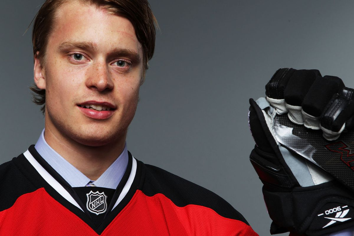cheaper 71962 16f6f Adam Larsson, No. 4 Overall Pick In 2011 NHL Draft, Signs ...