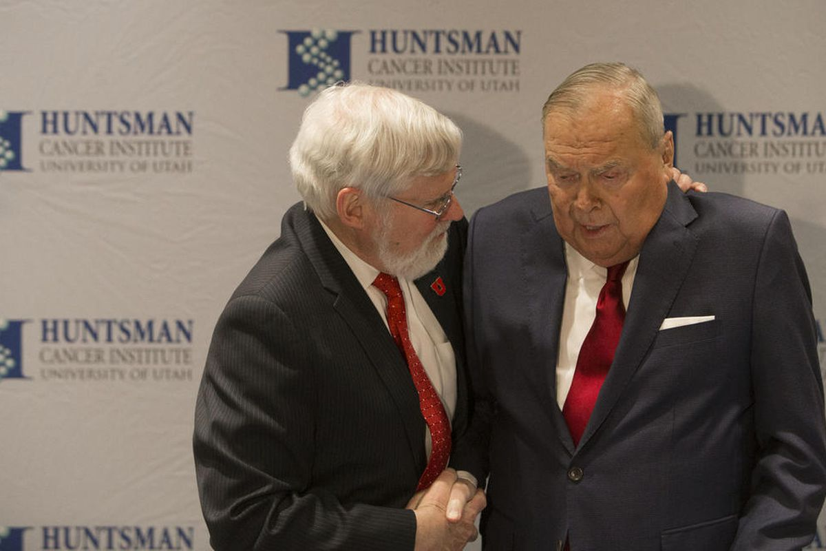 U  president apologizes to Jon Huntsman Sr  over Beckerle