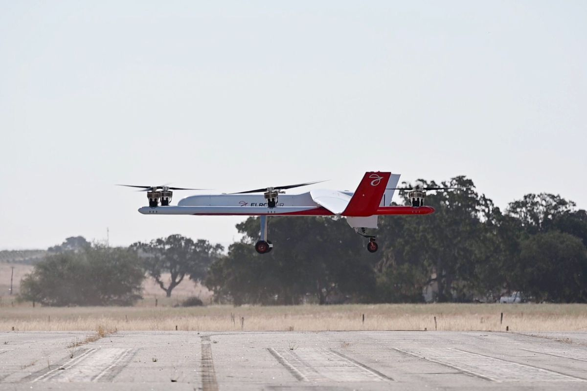 Elroy Air's massive cargo drone completes its first test