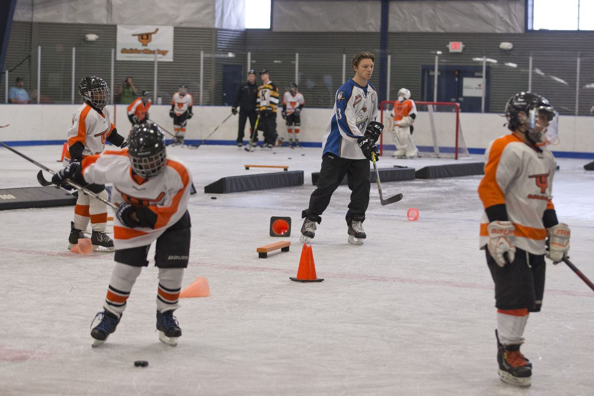 Young players need ice time, too.