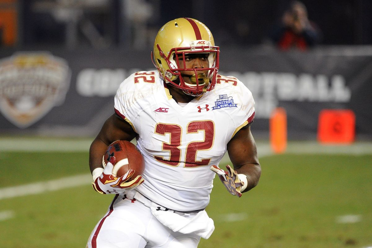 huge selection of 83f44 856c5 Better Know A Dude 2015: #32 Running Back Jon Hilliman - BC ...