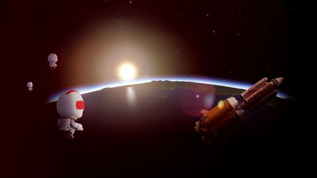 To the Mun and back: Kerbal Space Program