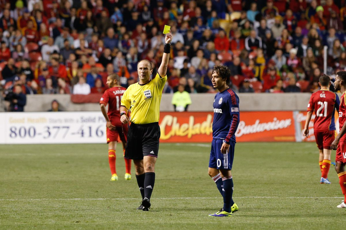 Guess we won't be seeing 2012 MLS Referee of the Year Petrescu for a while