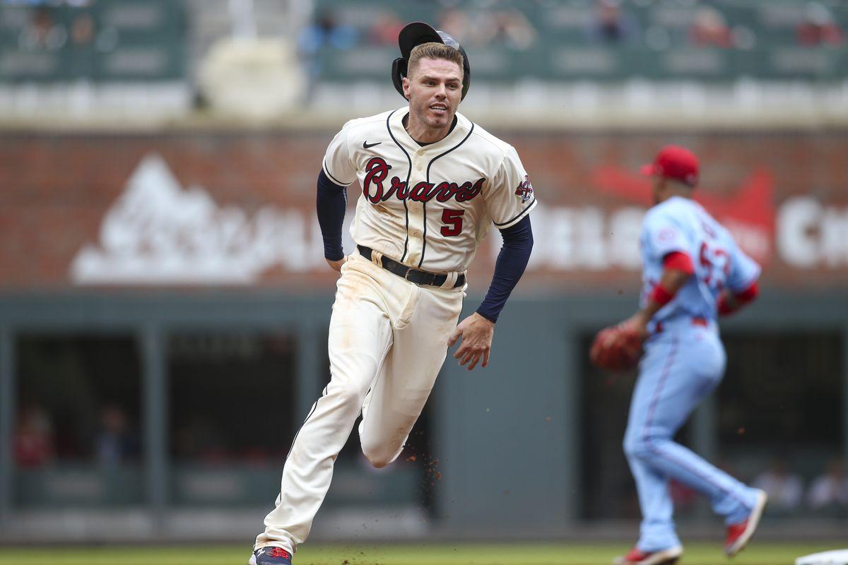 MLB: Game One-St. Louis Cardinals at Atlanta Braves