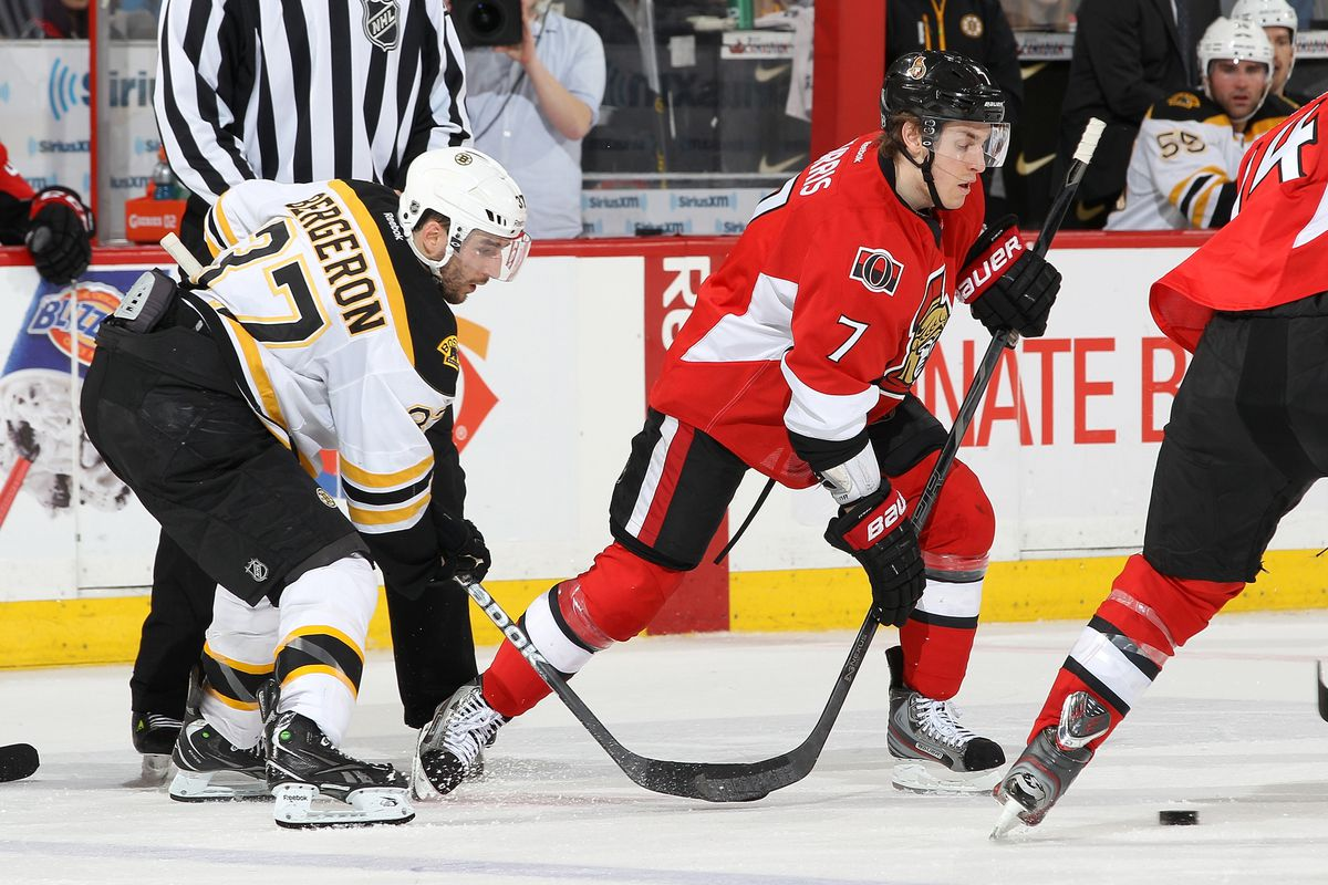 Kyle Turris leads the team in goals, but it is close