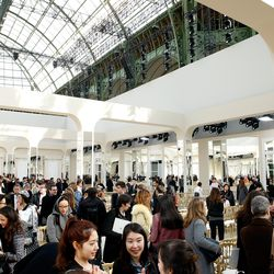 The couture atelier-themed venue at Chanel.