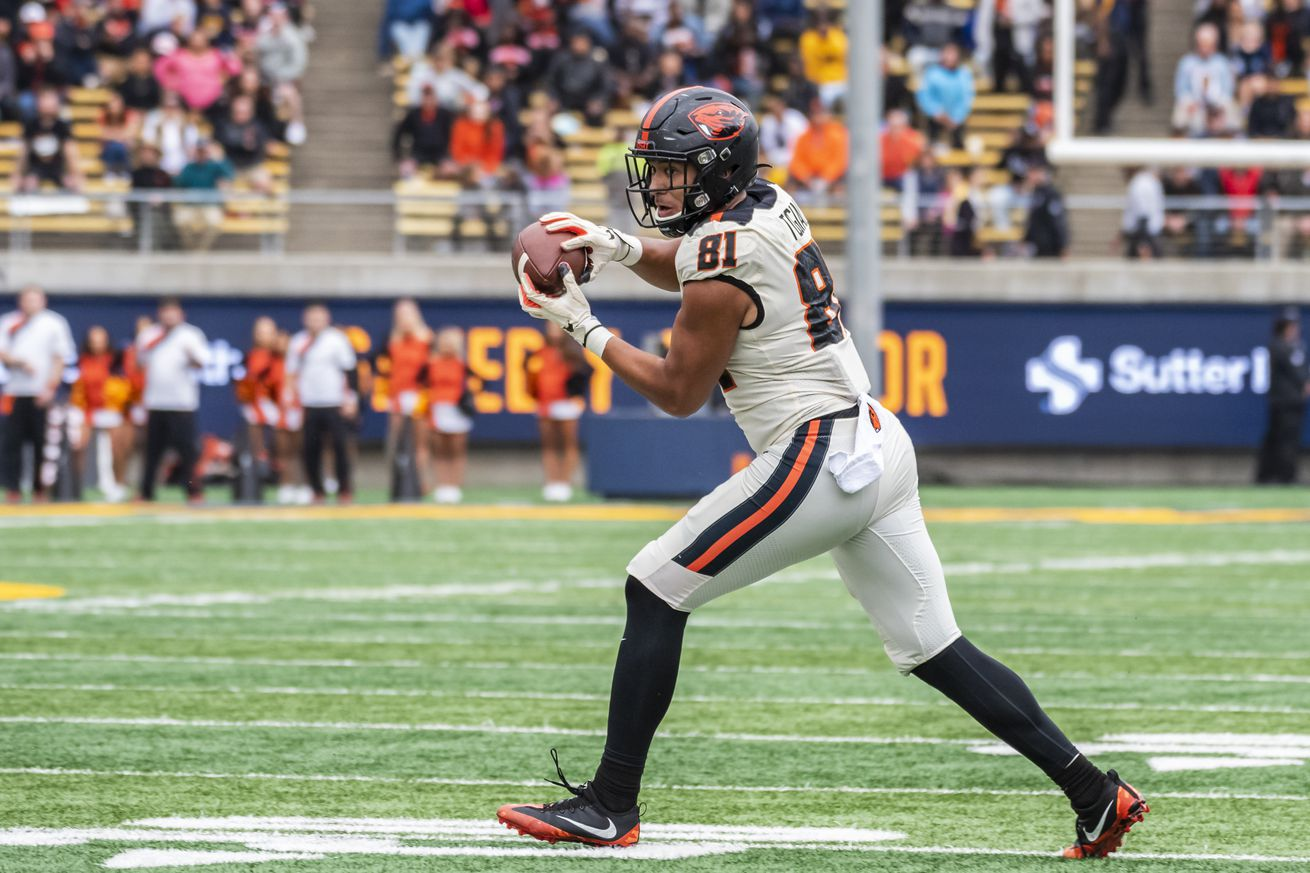 COLLEGE FOOTBALL: OCT 19 Oregon State at Cal
