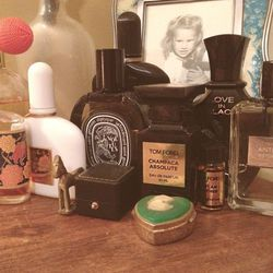 Clearly I'm big on perfumes. While I don't necessarily wear them every day, I love having a variety of scents for different occasions. <b>Tom Ford</b> Private Blend, <b>Diptyque, Creed, and L'Artisan Parfumeur</b> are my go-to's.