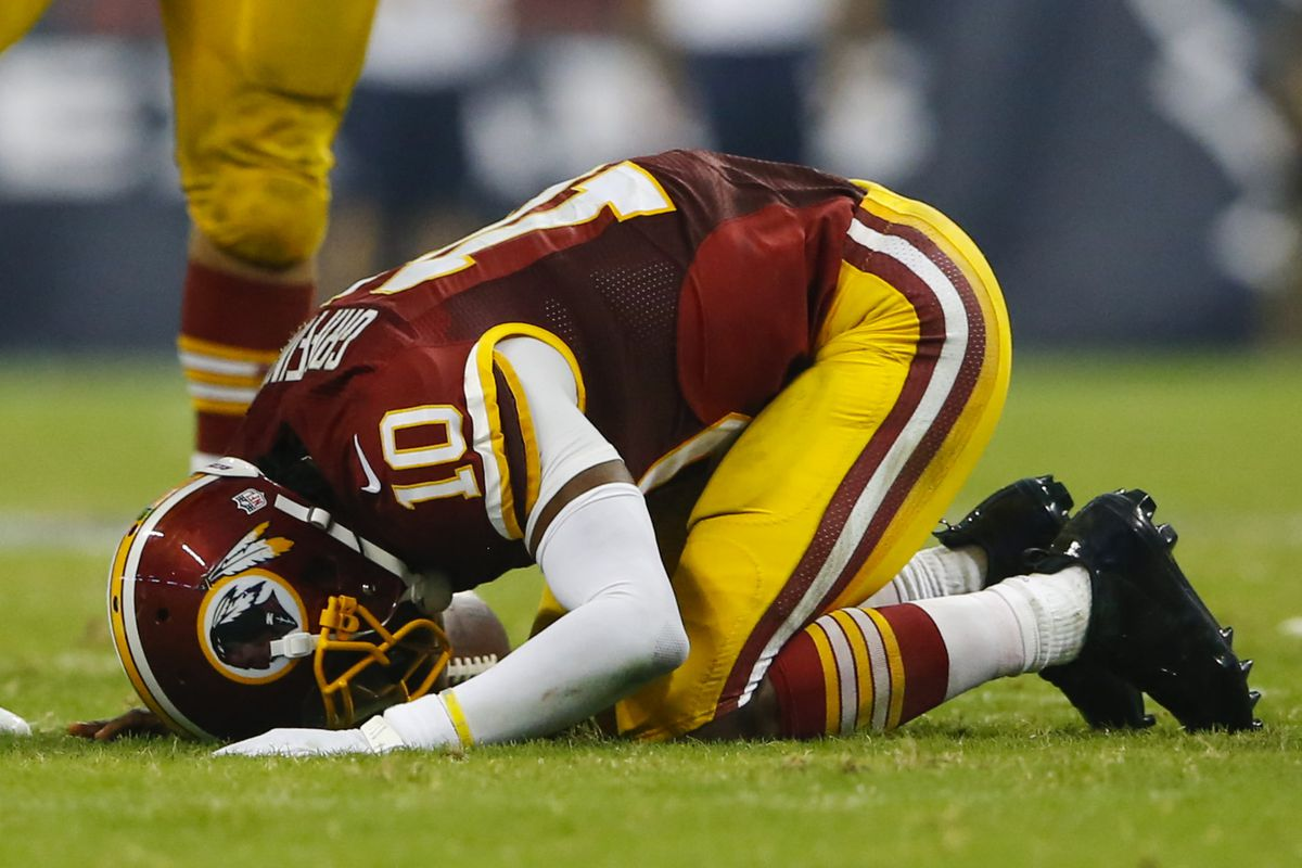 Robert Griffin Iii Injury Washington Redskins Quarterback