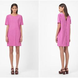 """<b>Caitlin Petreycik, Racked New York Features Writer</b>: """"<b>COS</b> has become my go-to for work dresses lately, mostly because they've hopped on the fashion caftan train. I just bought <a href=""""http://www.cosstores.com/us/Shop/Women/Dresses/Dress_with"""