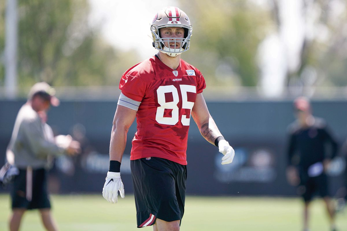 wholesale dealer 6377e 7f6ca 49ers salary cap: What would George Kittle's contract look ...