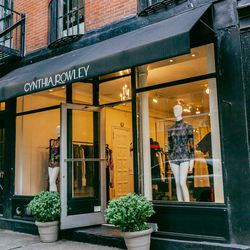 """<b>↑</b> In the market for a party dress? Look no further than <b><a href="""" http://www.cynthiarowley.com/"""">Cynthia Rowley</a></b> (376 Bleecker Street). The designer has the New York night-out look mastered with a balance of fashion-forward and classic, d"""