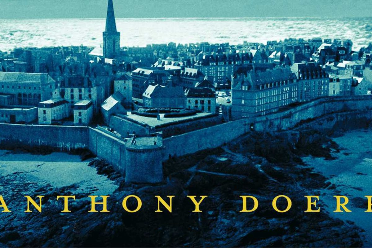 Cover of the Pulitzer Prize for Fiction by Anthony Doerr.