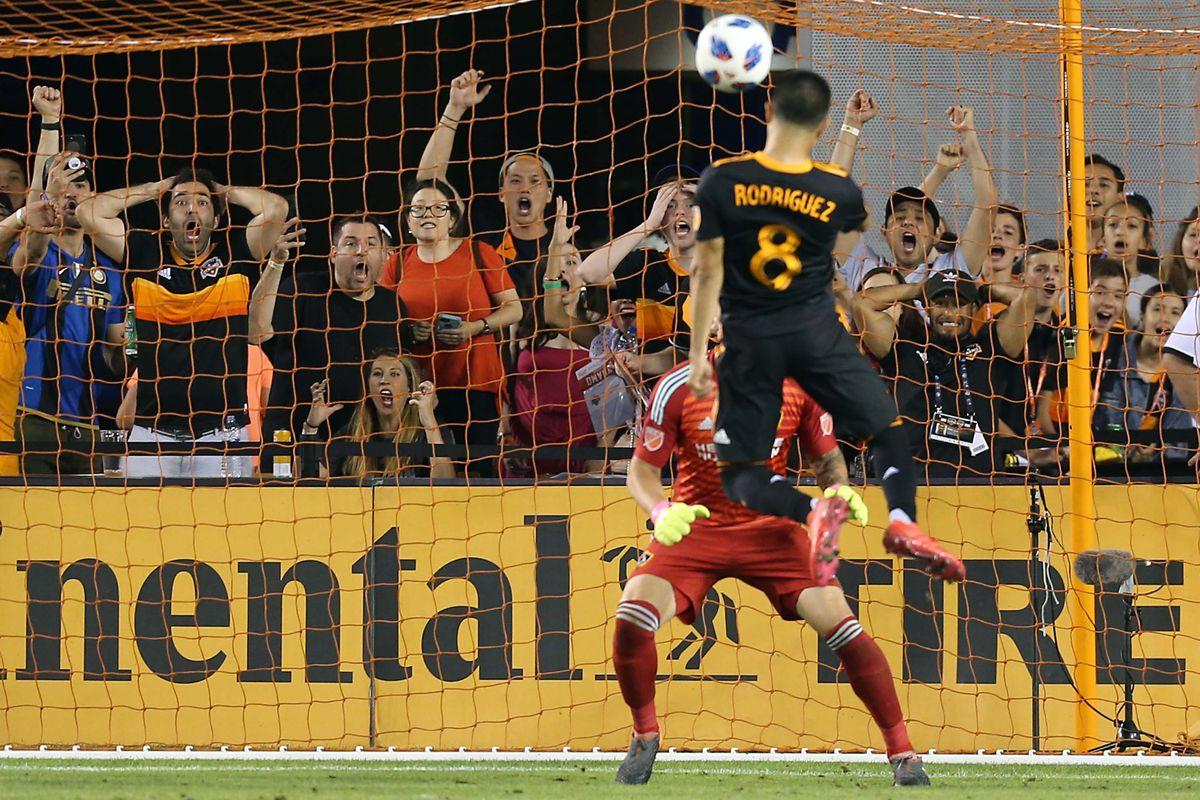 MLS: Los Angeles Galaxy at Houston Dynamo
