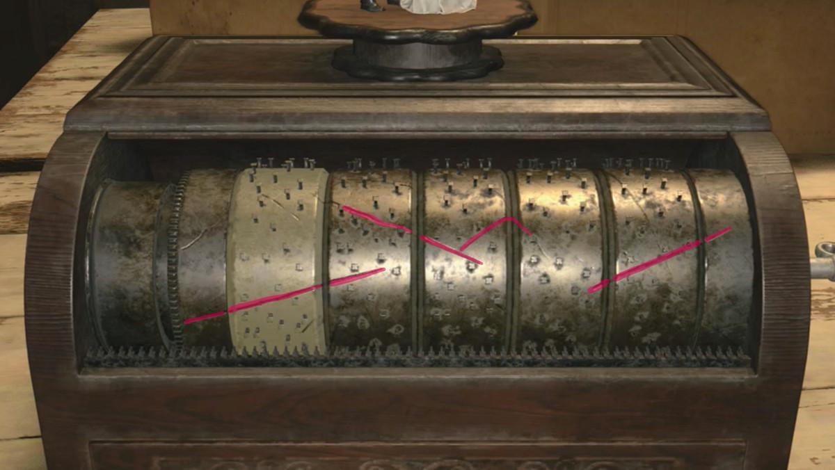 Resident Evil Village House Beneviento music box puzzle solution