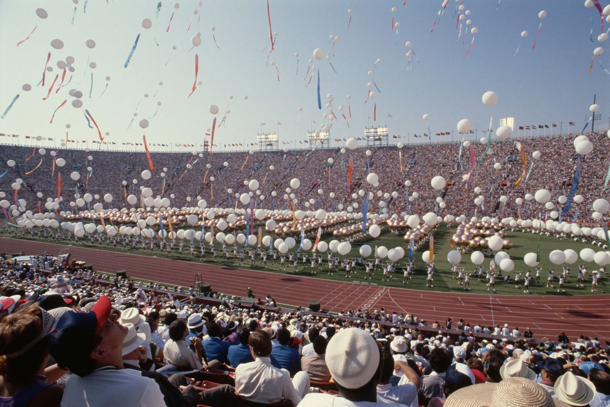 Opening Ceremony of the 1984 Summer Olympics
