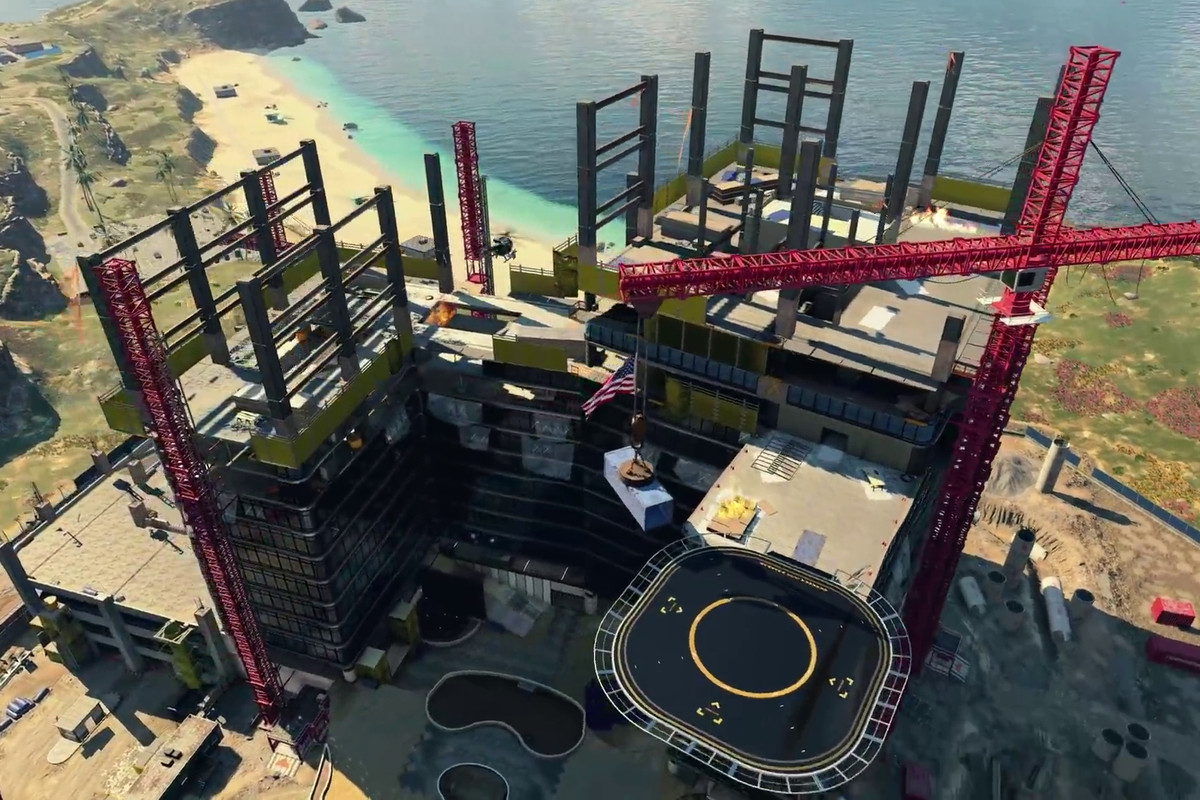 Call of Duty: Black Ops 4 Blackout - construction site