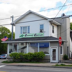 This retail store was the general store in Mendon, New York, during the early 1830s, when Brigham Young, Heber C. Kimball and their families lived there.