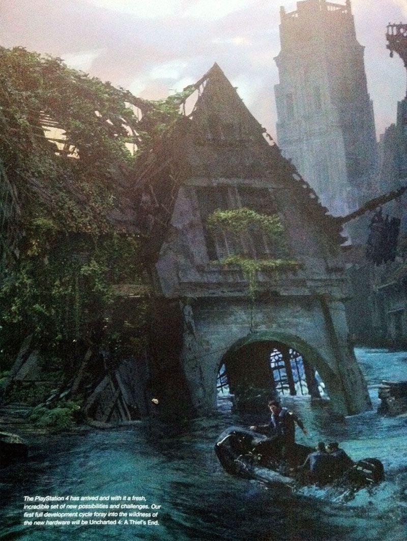 Uncharted 4 concept art