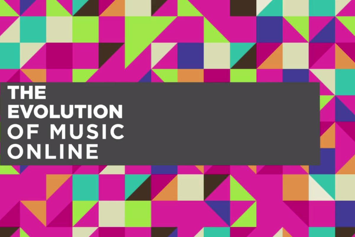 Evolution of music online